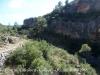 Vista del camí d'accés al Pont de Cavaloca - Cabacés