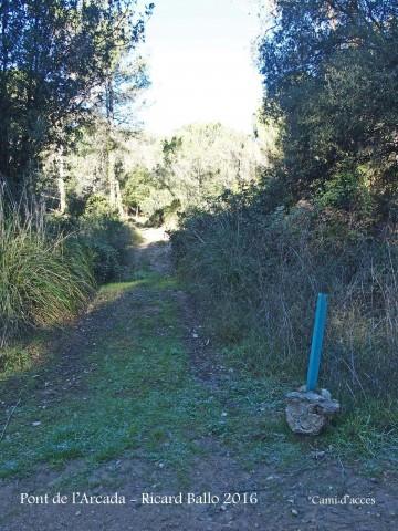 Camí al Pont de l'Arcada – Olesa de Bonesvalls