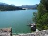 Pont de l'Esquella – Peramola - Aquí veiem l'aigua del pantà d'Oliana