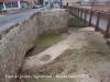 Pont de pedra – Agramunt - Originàriament, fou un pont amb dos ulls idèntics, però un d\'ells actualment està tapat i gairebé no es percep; no és practicable. Amb la canalització del riu, a mitjan del segle XX, es va cegar un dels dos ulls del pont.