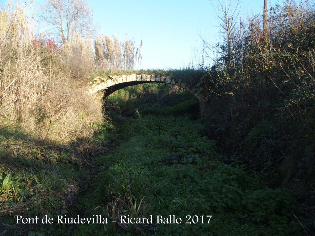 Pont de Riudevilla – Riudellots de la Selva