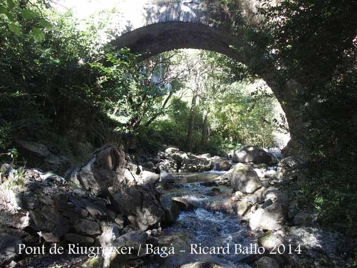 Pont de Riugrèixer – Bagà
