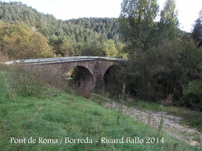 Pont de Roma - Borredà