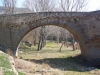 Pont de Sanaüja - Detall d\'una arcada.