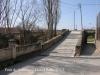 Pont de Sanaüja - Un dels accessos laterals per vianants.