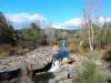 Paratge de la Riera de Merlès en el lloc on hi ha el Pont de Santa Maria de Merlès