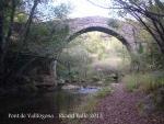 Pont de Vallfogona – Vallfogona de Ripollès