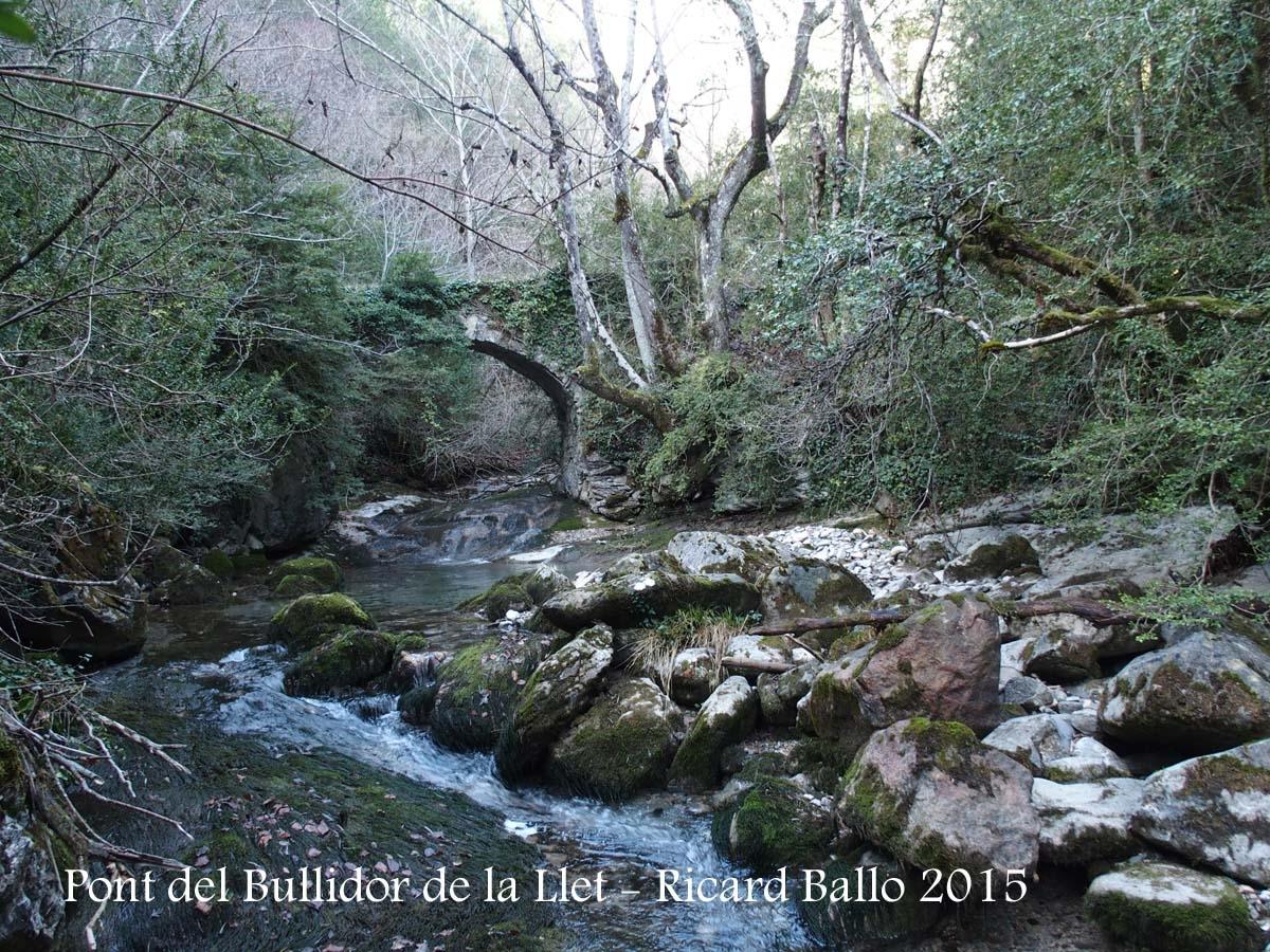 Pont del Bullidor de la Llet – Bagà