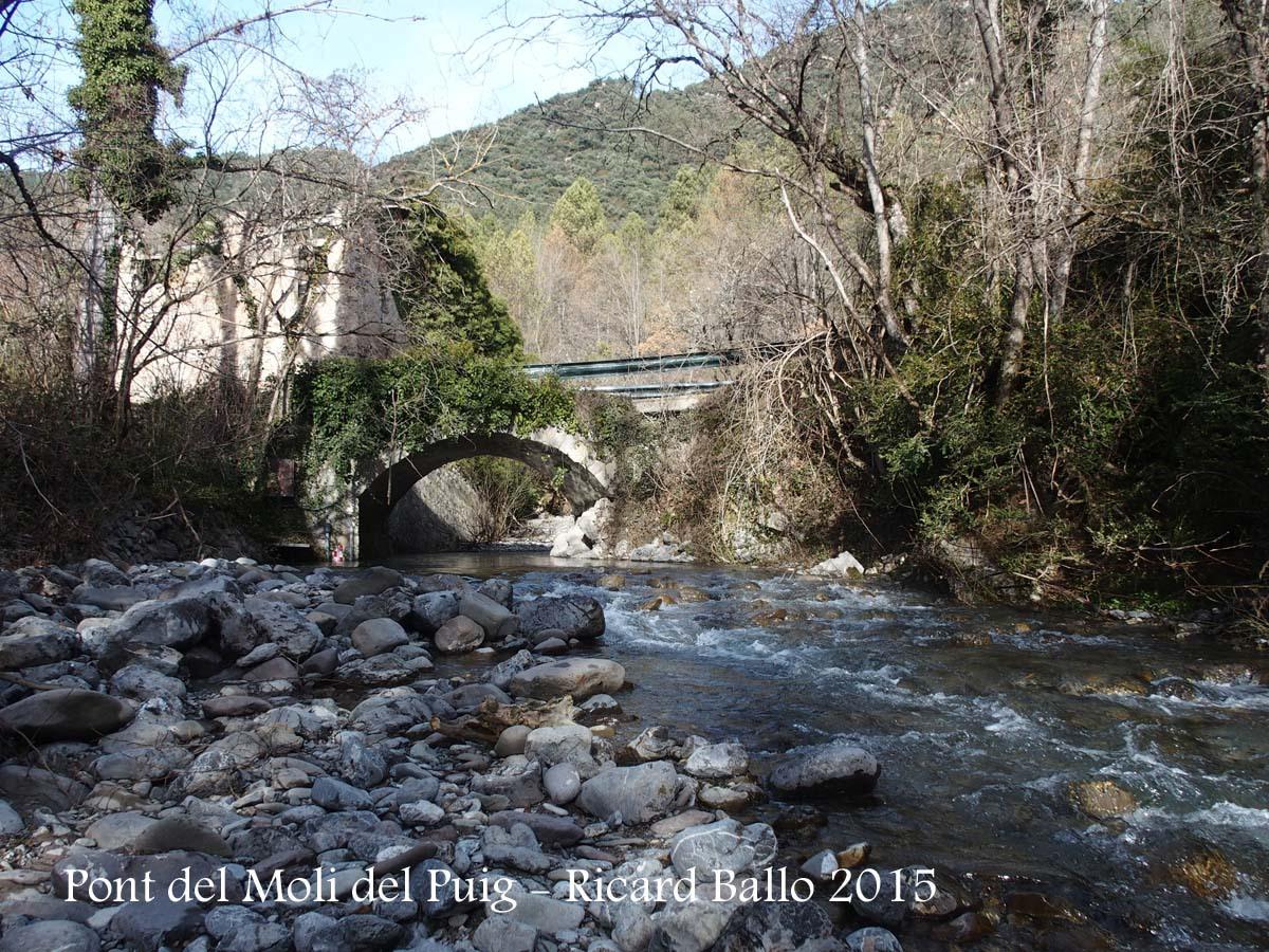 Pont del Molí del Puig – Gisclareny