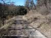 Pont del molí dels capellans-Taradell - Una mostra del camí de terra