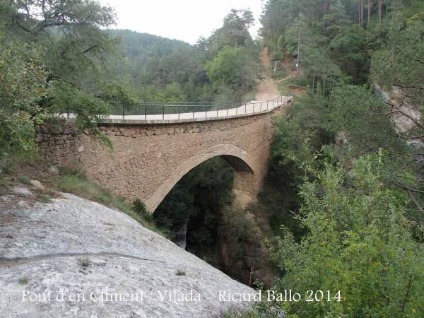 Pont d'en Climent - Vilada