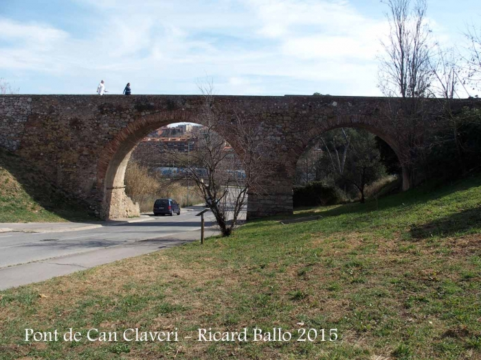 Pont i aqüeducte de Can Claverí – Rubí