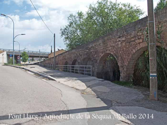 Pont Llarg – Aqüeducte de la Sèquia de Manresa