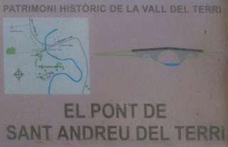 Pont medieval de Sant Andreu – Cornellà del Terri