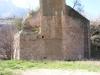 Pont sobre el riu Llobregat - Monistrol de Montserrat. Els tallamars dels pilars són els originals.