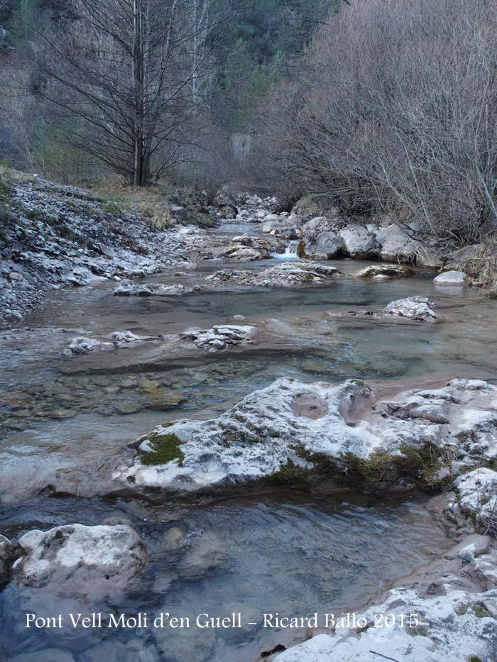 Pont Vell del Molí d'en Güell – Gósol