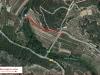 Pont Vell o Pont Romà – Cabacés - Mapa del recorregut -.Captura de pantalla de Google Maps, complementada amb notacions manuals