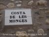 Portal costa de les Monges – Peralada