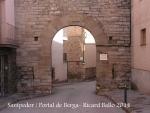 Santpedor - Portal de Berga