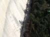 Pantà de La Baells – Cercs - Tot i que ho sembli, el que veiem a la fotografia, no és una via de tren ...