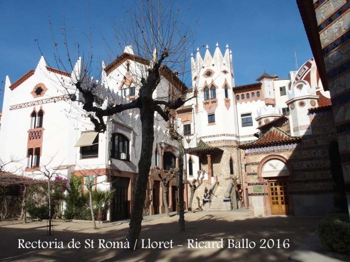 Rectoria de Sant Romà - Lloret de Mar