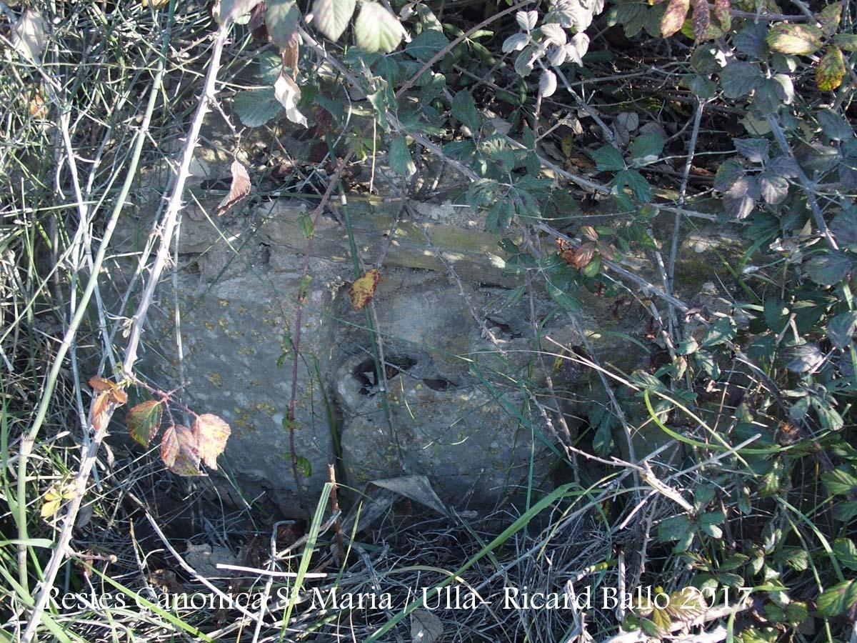 Restes de la Canònica de Santa Maria d'Ullà – Ullà