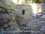 Restes de l'església de Sant Martí/Taüll