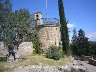 Tàrrega - Parc de Sant Eloi - Torre d'època carlina (Segle XIX).