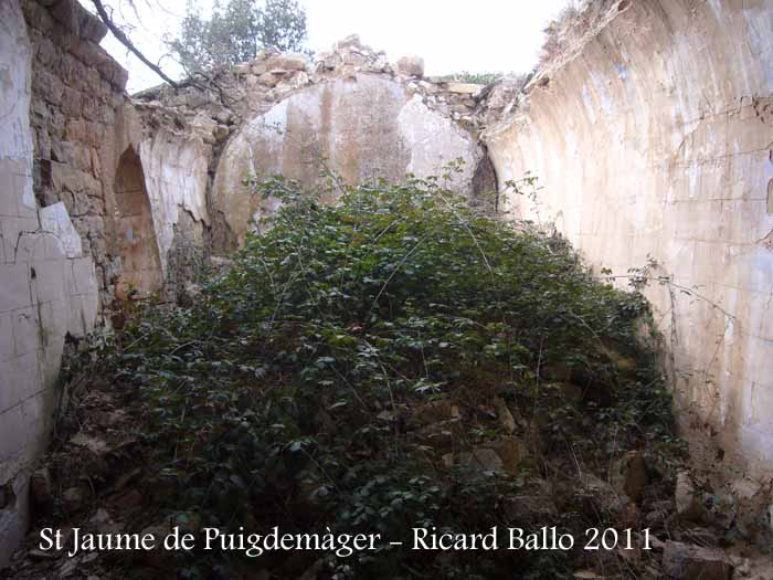 Església de Sant Jaume de Puigdemàger – Els Prats de Rei
