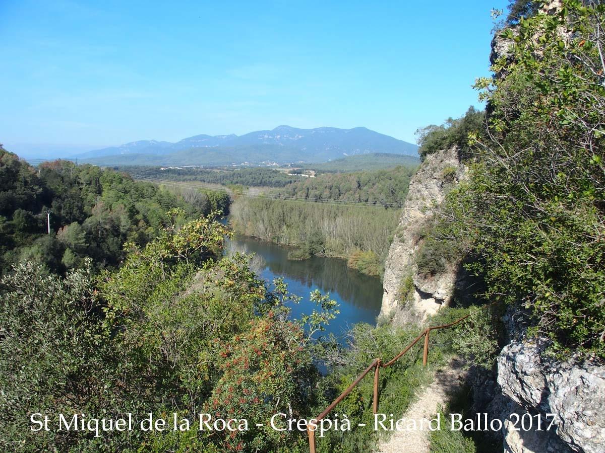 Vistes des de l'ermita de Sant Miquel de la Roca