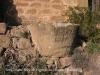 Església de Sant Pere de Figuerola - Torà - Exterior - Recipient tallat directament a la pedra.