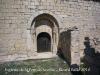 Sant Pere de Savella: Porta d\'entrada.