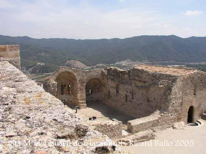 Santa Maria del castell de Claramunt – La Pobla de Claramunt