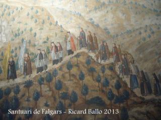 Santuari de Falgars - La Pobla de Lillet - Cambril - pintures.