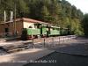 El tren del ciment - La Pobla de Lillet - Estació superior.