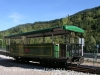 El tren del ciment - La Pobla de Lillet. Un vagó de passatgers.