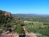 Vistes des del Santuari de la Mare de Déu de la Roca–Mont-roig del Camp