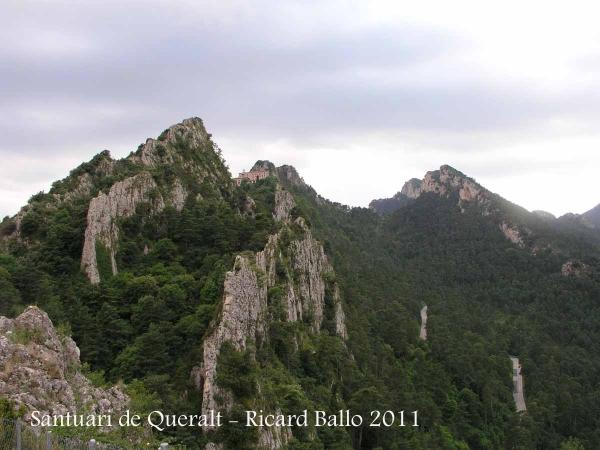 Vistes del Santuari de la Mare de Déu de Queralt – Berga