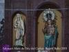 Santuari de la Mare de Déu del Guilar – Argelaguer. Fotografia obtinguda introduint l'objectiu de la màquina de retratar a través d'un petit descosit d'una tela metálica que protegeix una finestra.