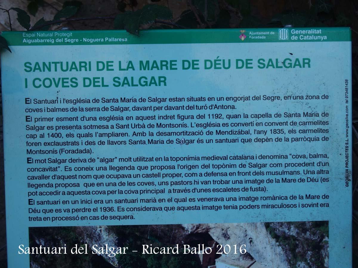 Santuari de la Mare de Déu del Salgar – La Foradada / Noguera  Catalunya Med...