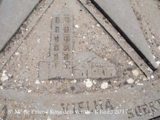 Santuari de Santa Maria de Pinós – Pinós - Rosa dels vents