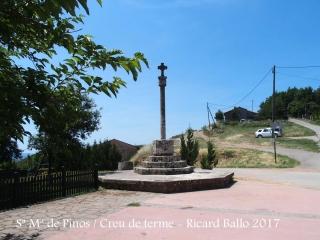 Santuari de Santa Maria de Pinós – Pinós - Creu de terme