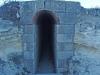 Porta d'entrada al Búnquer del Santuari del Tallat