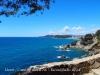 Camins de ronda de Lloret de Mar - i al tornar la vista enrere, veiem la platja de Lloret ...