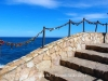 """Camins de ronda de Lloret de Mar - """"Tradicionals"""" garlandes de cadenats ... Si l'amor dura el que dura el cadenat, aquest ja s'estan rovellant ..."""