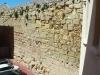 Tram de muralla de Tarragona, visible des de dins del Seminari Pontifici de Tarragona