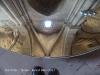 Seu Vella - Lleida - Interior - Curiositat: Per evitar que els visitants es desnuquin guaitant els sostres, s'han disposat una sèrie de miralls de grans dimensions, als peus dels visitants,  que faciliten la contemplació dels sostres, ara mirant abaix