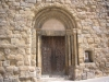 Sant Joan de les Abadesses - Església de Sant Pol - Porta d\'entrada, façana davantera.