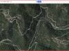 1 - Camí a les Tines de les Balmes Roges - Itinerari - Captura de pantalla de Google Maps.