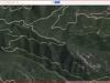 5 - Camí a les Tines de les Balmes Roges - Itinerari - Captura de pantalla de Google Maps.